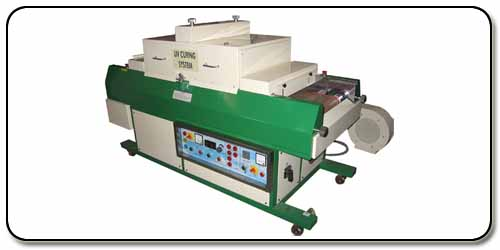 	UV CURING MACHINE FOR PVC PROFILE